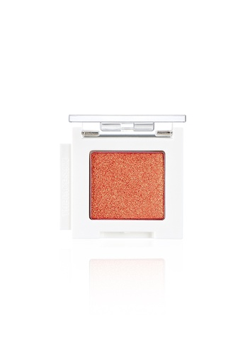 THE FACE SHOP orange Mono Cube Eyeshadow (Glitter)  OR01 Orange Island B1D44BE27AC96DGS_1