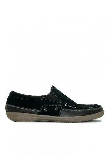 D-Island black D-Island Shoes Slip On Comfort Loafers Suede Black DI594SH82IWVID_1