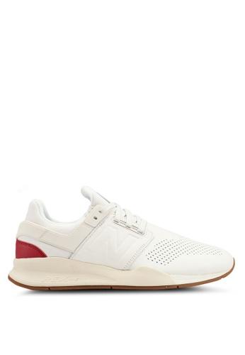 New Balance white 247 Gelato Shoes 3FAC2SHB669447GS_1