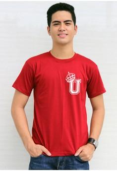 King's Initial U T-shirt