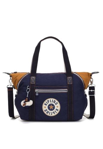 08dc6fb6ec49 Kipling blue Art Shoulder Bag 8157FACEF432BEGS 1