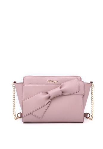 Fancy Bow Shoulder Bag