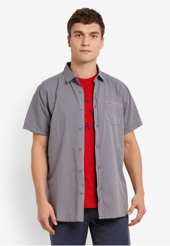 Cotton On grey Sunset Short Sleeve Shirt CO372AA0RZ8DMY_1