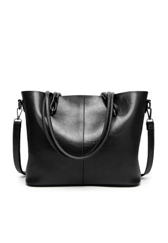 Halo black Vintage Three Way Crossbody Bag C4733AC73714C4GS_1