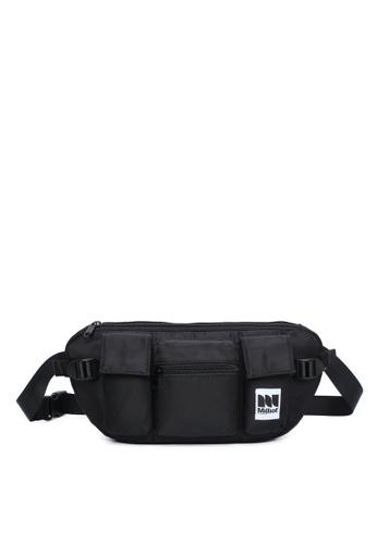 Milliot & Co. black Humphrey Waist Bag 46EB7ACF373C51GS_1