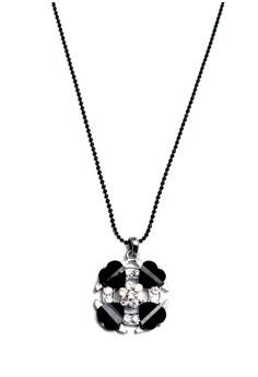 Clique Lucky Clover Onyx Black Necklace Graduation Day Sale