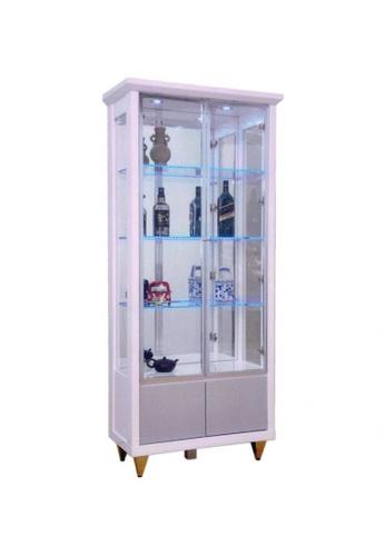 Choice Furniture white Choice Furniture - Dahna Display Cabinet E3143HL80E7EDDGS_1