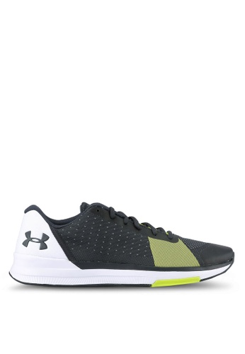 Under Armour grey UA Showstopper Shoes UN337SH0RUDNMY_1