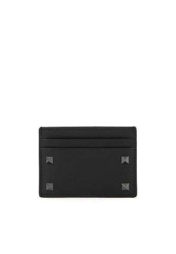 Valentino black Garavani Card Holder EF048AC4459ADCGS_1