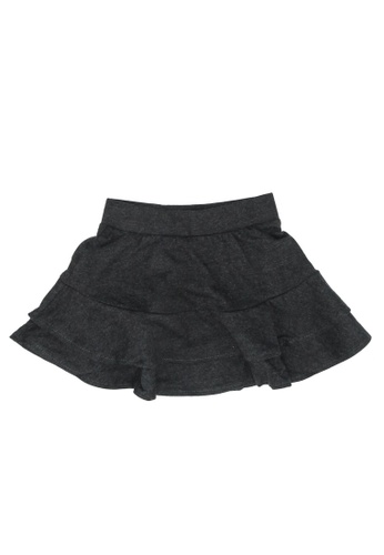 FOX Kids & Baby grey Plain Skirt F45F1KAE9C043DGS_1