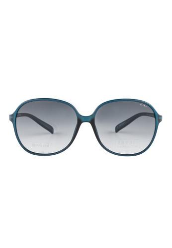 ESPRIT ESPRIT Oval Blue Sunglasses ET17901 ES374AC67GAEMY_1