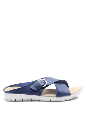 Dr. Kevin navy Dr. Kevin Women Flat Sandals 27350 - Navy DR982SH31AXSID_1