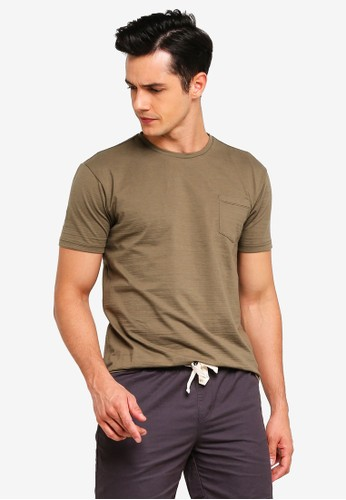 Penshoppe green T-Shirt With Pocket ACC96AA718EBE3GS_1