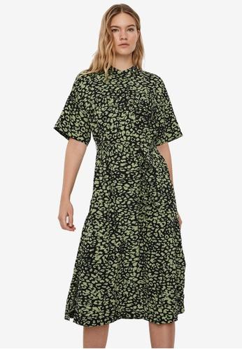 Vero Moda black Original 2/4 Calf Midi Dress 6CE83AAD6EACD8GS_1