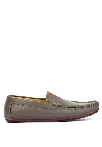 Cardam's Lifestyle black Purdy Loafers FC59DSH551141EGS_1