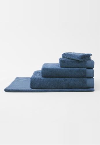 Sheridan blue Supersoft Luxury Sea Blue Bath Towel (1 piece) 573F4HL630519FGS_1