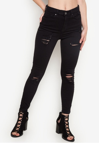 3be9878f1e5 Shop TOPSHOP Moto Super Rip Jamie Jeans Online on ZALORA Philippines