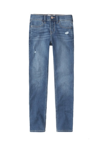 Abercrombie & Fitch blue Super Skinny Destroyed Jeans CF126KA545718EGS_1