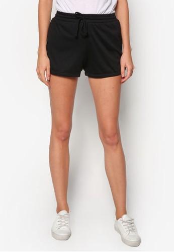 基本款束口運動短褲, 服飾,zalora時尚購物網的koumi koumi 休閒短褲