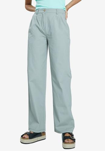 PIMKIE green Plain Long Trousers 99624AA49615A5GS_1
