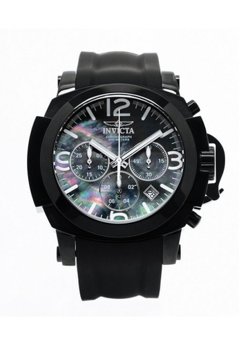 INVICTA black Invicta I-Force Men 48mm Case Black Silicone Strap Black Dial Quartz Watch 22279 IN968AC0F5FCSG_1