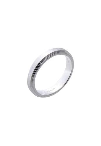 The LoveMark silver Matte Eternity Ring for Men lr0012m TH516AC96UZVPH_1