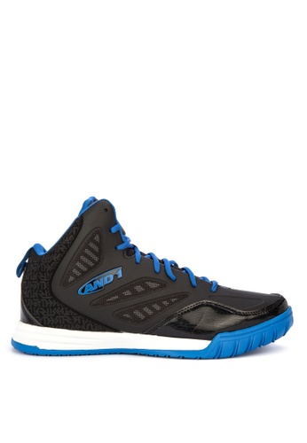 And1 black Tactic Basketball Shoes 71495SH3AB820FGS_1