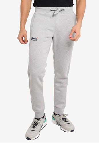 SUPERDRY grey Orange Label Classic Jogger Pants 6C7D2AA12DCDC5GS_1