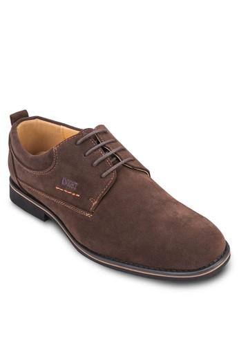 繫帶布料商務皮鞋, 鞋, esprit 衣服鞋