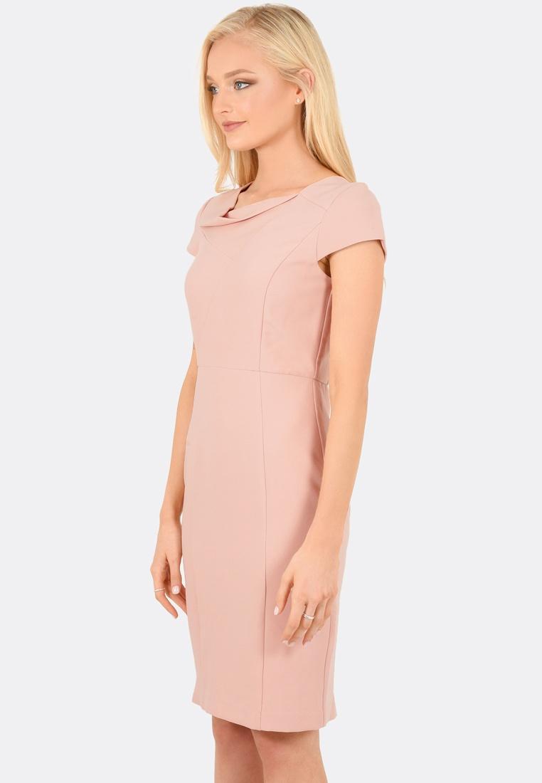 Maria FORCAST Dress Cap Sleeve Blush qqwSOa