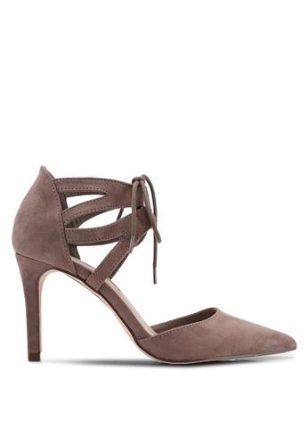 Dorothy Perkins 灰色 Grey Elle Court Heels 42A63SHE28A6E5GS_1