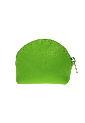 Oxhide green Oxhide Leather Coin Purse Green Small 9B212ACAA55C90GS_1