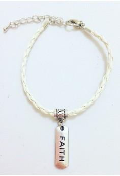 Faith Braided Bracelet