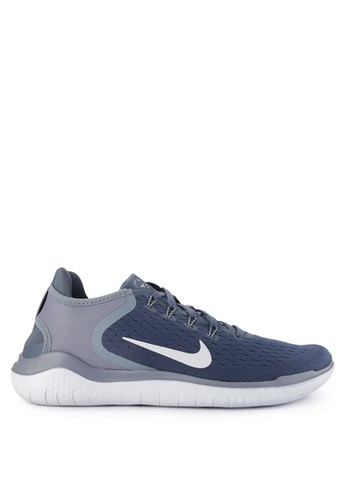 Nike blue and multi Nike Free Rn 2018 Shoes 212FFSH745C843GS_1