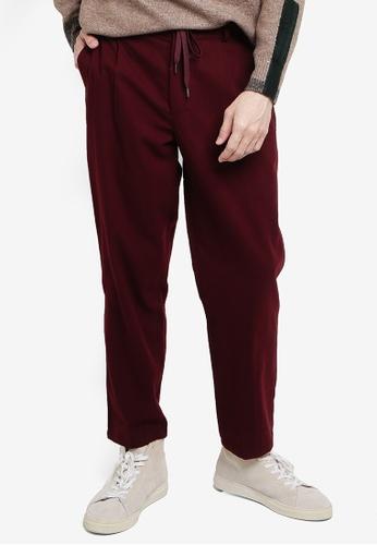 niko and ... red Casual Pants D3ED4AA75E73EFGS_1