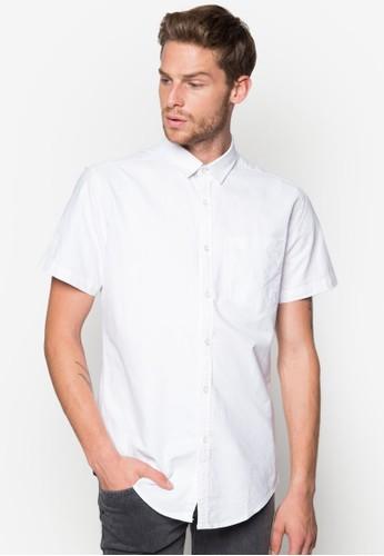 Wesprit 童裝alter 簡約短袖襯衫, 服飾, 襯衫