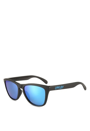 Oakley black Performance Lifestyle OO9245 Sunglasses BB1F0GLE6A2F8CGS_1
