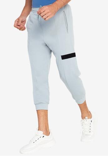 ZALORA ACTIVE grey 3/4 Jogger Pants B2525AA69AE447GS_1