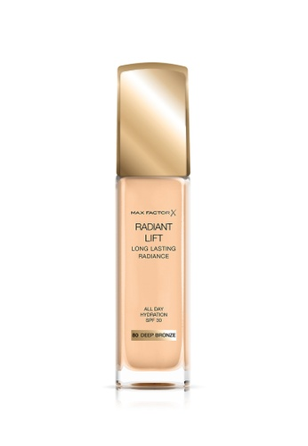 Max Factor beige Max Factor Radiant Lift Foundation 80 Deep Bronze 6D26DBEF5CB2BBGS_1