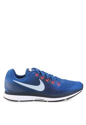 Nike blue Nike Air Zoom Pegasus 34 Shoes 86336SHC46FE39GS_1