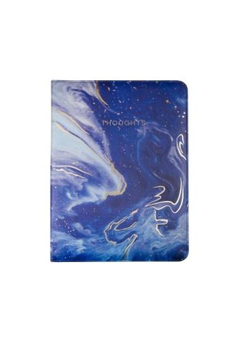 Klosh Padfolios - Deluxe Organizer Padded - Blue Galaxy A3F42HL53B6D22GS_1