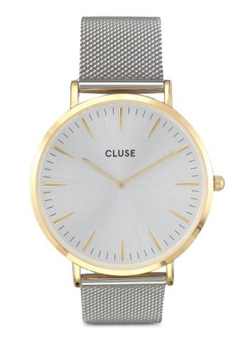 CLUSE gold La Boheme Mesh Gold/Silver CL977AC0SA2MMY_1