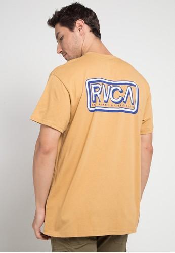 RVCA brown Octane Ss 94602AA937F36FGS_1