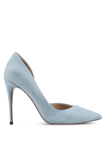 Miss KG blue Alexandra Blue Suedette Heels 0A7A2SH71E878DGS_1
