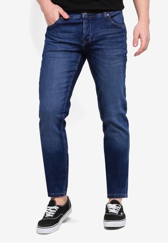 OVS blue Skinny Fit Stretch Jeans BF510AADA93811GS_1