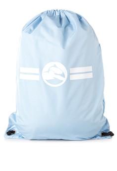RE14 Cloud-Nine Drawstring Bag in Sky Blue