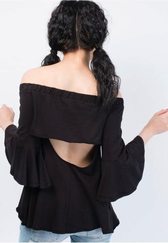 1660615922d701 Buy SH by SILVIAN HEACH Bare Shoulders Blouse