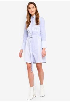 7e613485af12 70% OFF ESPRIT Long Woven Stripe Dress S  99.95 NOW S  29.95 Sizes 32 36 40
