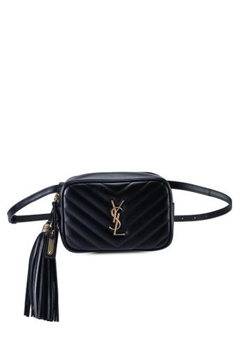 SAINT LAURENT black LouLou Belt Bag (zt) E0D75AC5D04DA0GS_1