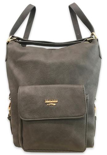 RUCINI grey Rucini Multi-Way Backpack 80FC7AC0D9E5D3GS_1